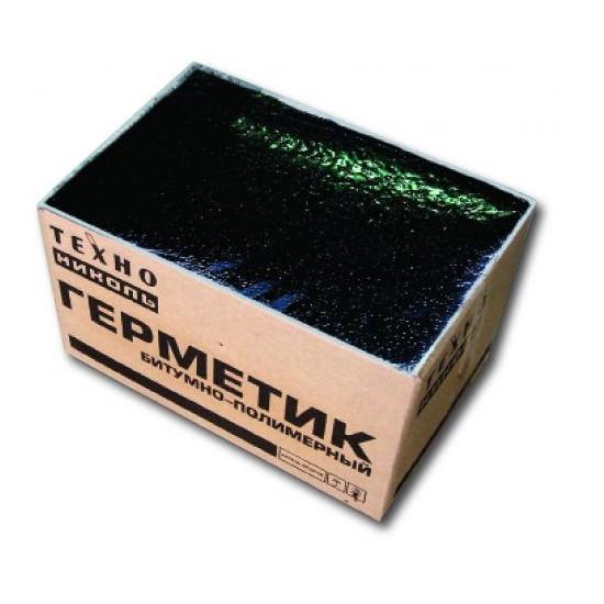 Герметик битумно-полимерный Технониколь №42 БП-Г 25 14 кг , цена - купить у оптового поставщика