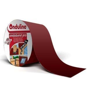 Лента герметизирующая Ондулин Ондубанд красный кирпич 10000х75 мм самоклеящаяся, цена - купить у оптового поставщика