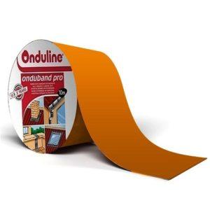 Лента герметизирующая Ондулин Ондубанд терракота 10000х150 мм самоклеящаяся, цена - купить у оптового поставщика