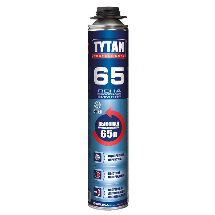 Пена монтажная профессиональная Tytan Professional 02 65 зимняя 750 мл, цена - купить у оптового поставщика