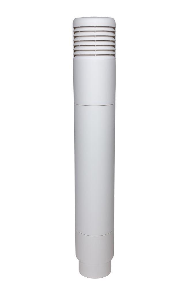 Ремонтный комплект для цокольного дефлектор ROSS - 125/110 маляр.белый