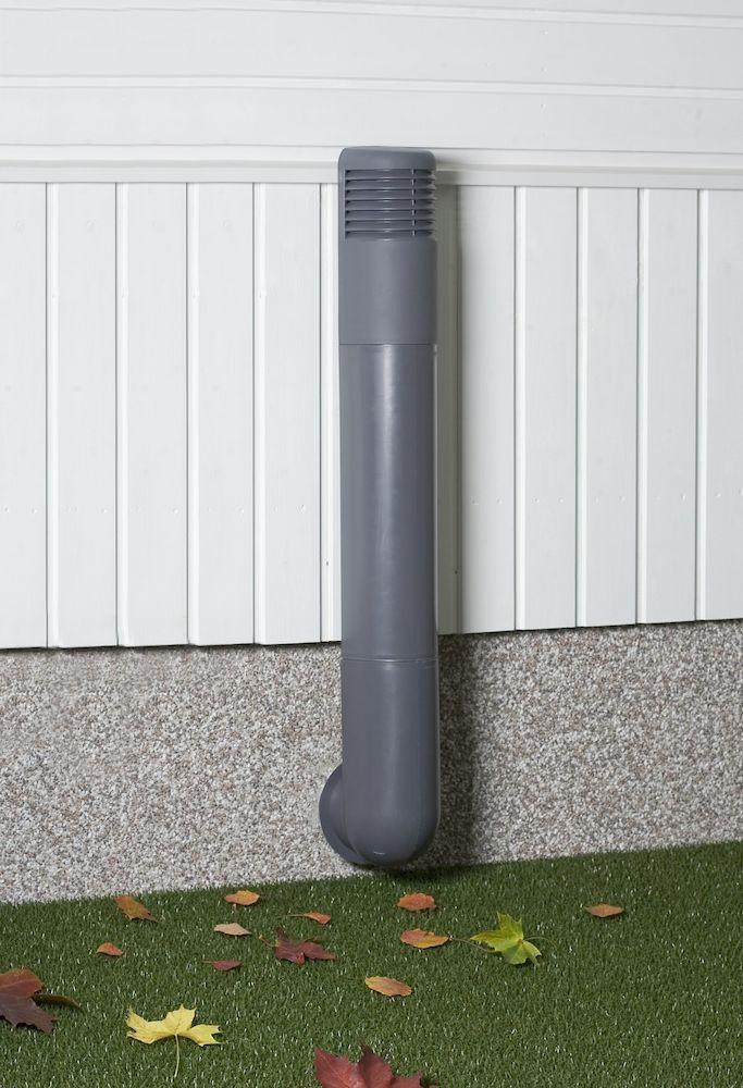 Цокольный дефлектор ROSS - 125/135 дефлектор бежевый