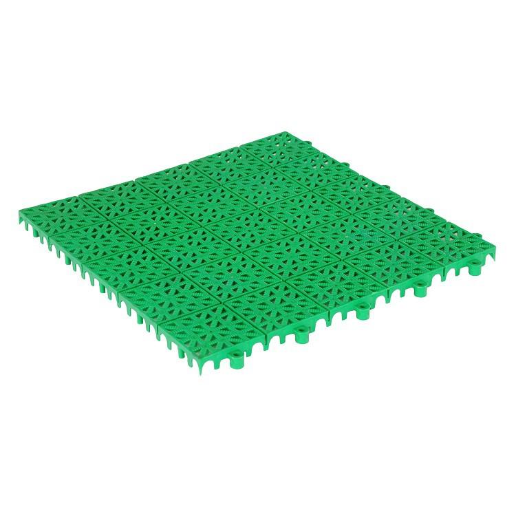 Покрытие универсальное пластиковое Пэксис Puzzle Deck для грунта зеленое 333х333х15 мм
