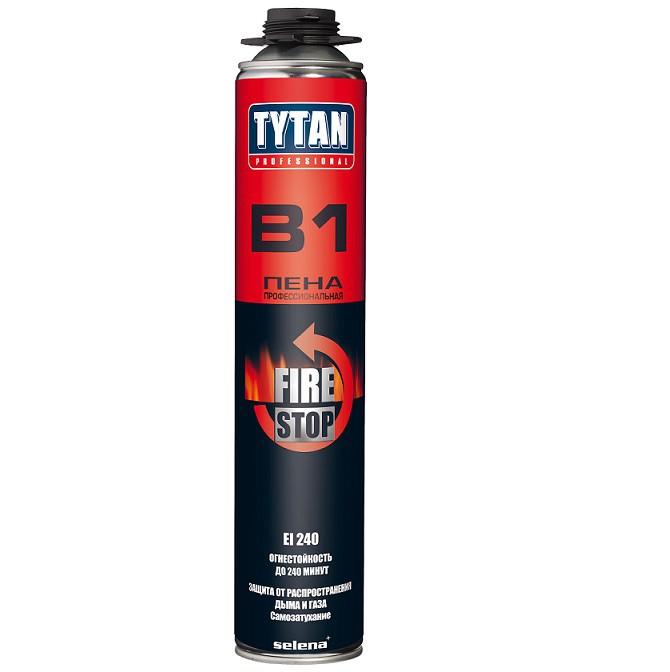 Пена монтажная профессиональная Tytan Professional В1 огнеупорная 750 мл, цена - купить у оптового поставщика