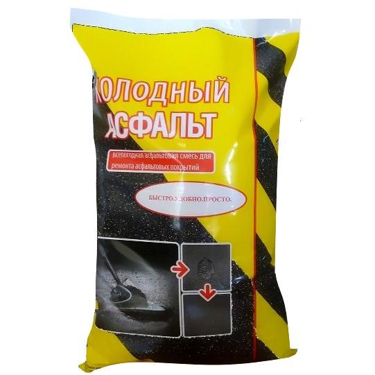 Холодный асфальт NovTecAs 30 кг мелкая фракция 0-5 мм