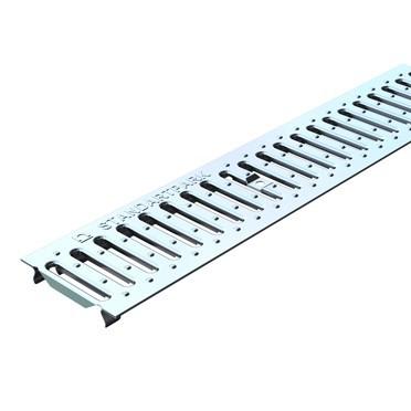Решетка водоприемная Standartpark Basic РВ-10.14.100-К штампованная нержавеющая сталь