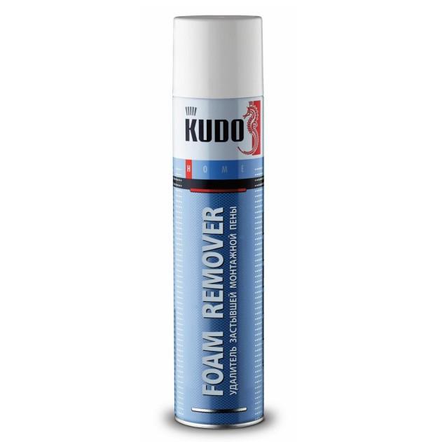 Очиститель застывшей монтажной пены Kudo Foam Remover 400 мл, цена - купить у оптового поставщика