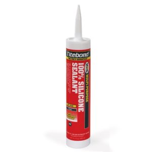 Герметик Titebond 100% Silicone Sealant белый 305 мл, цена - купить у оптового поставщика