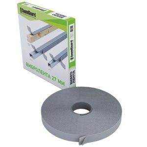 Лента демпферная виброгасящая Soundguard Band Rubber 27 12000x27x4,6 мм, цена - купить у оптового поставщика