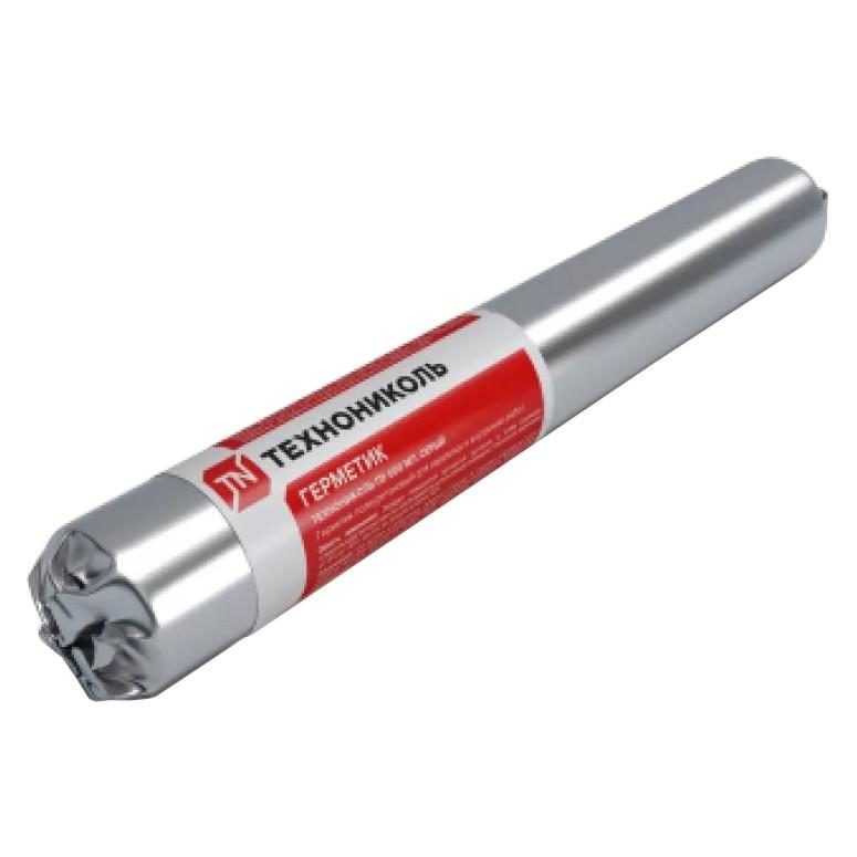 Герметик полиуретановый Технониколь ПУ серый 600 мл, цена - купить у оптового поставщика