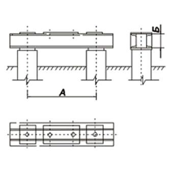 Ростверк Р2-25-16-2 (холодное цинкование)