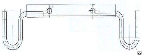 Траверса ростверка Т56-4 (горячее цинкование)