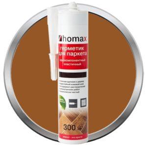Герметик Homax для паркета орех светлый 300 мл, цена - купить у оптового поставщика