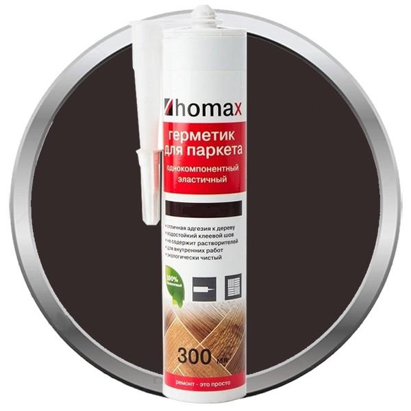 Герметик Homax для паркета орех темный 300 мл, цена - купить у оптового поставщика