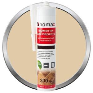 Герметик Homax для паркета ясень 300 мл, цена - купить у оптового поставщика