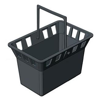 Корзина для дождеприемника пластиковая Gidrolica Point 215 30.30