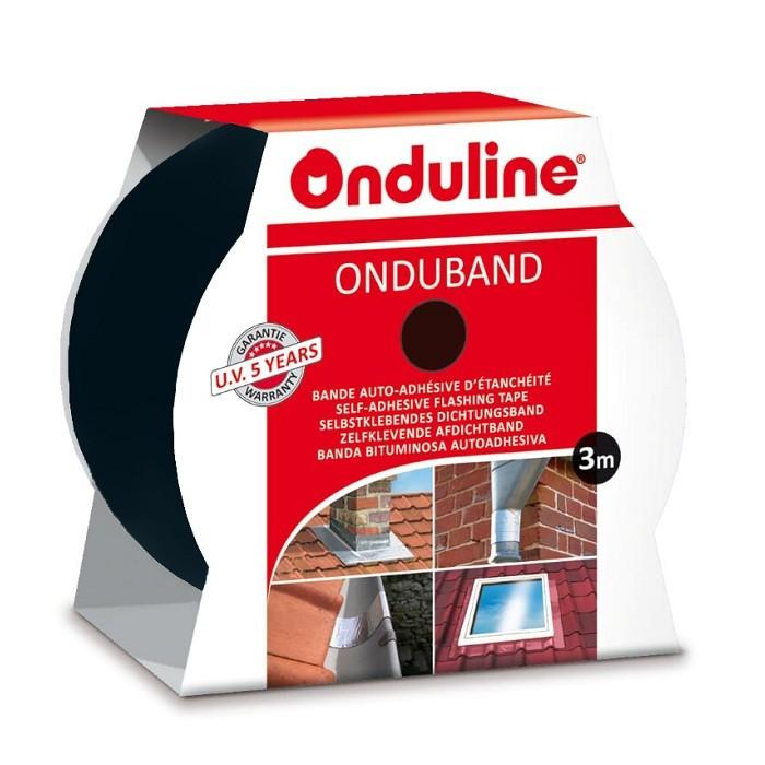 Лента герметизирующая Ондулин Ондубанд свинец 3000х50 мм самоклеящаяся, цена - купить у оптового поставщика