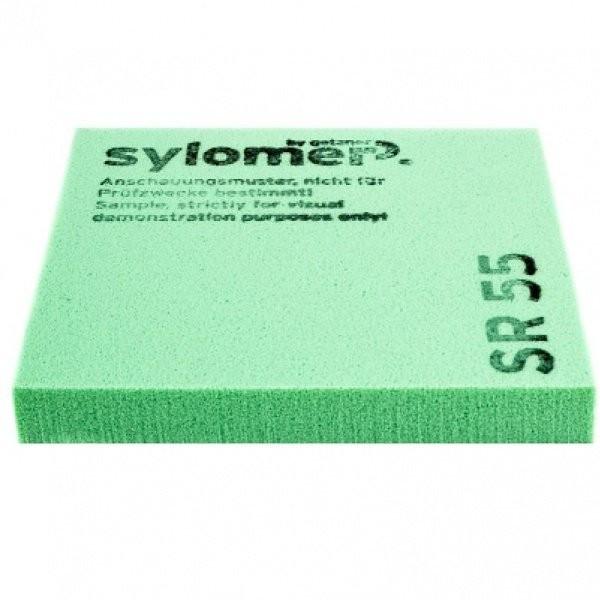 Виброизолирующий эластомер Sylomer SR 55 зеленый 1200х1500х12,5 мм, цена - купить у оптового поставщика