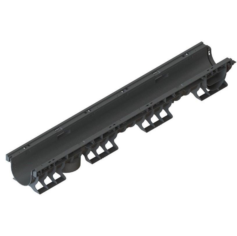 Лоток водоотводный Standartpark PolyMax Basic 8020-М ЛВ-10.16.12-ПП пластиковый со стандартным бортом