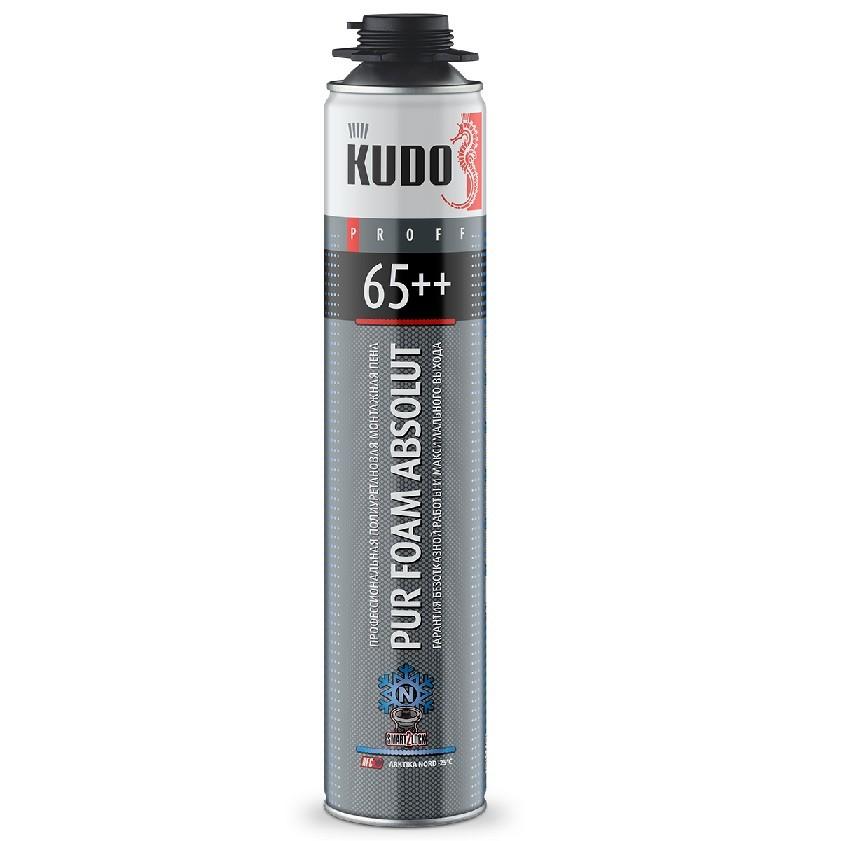 Пена монтажная профессиональная Kudo Proff 65++ Arktika Nord зимняя , цена - купить у оптового поставщика