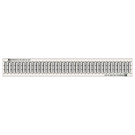 Решетка водоприемная стальная Gidrolica Standart 508 РВ-10.13,6.100