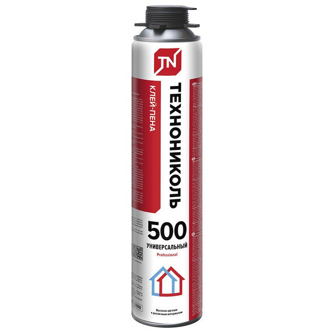 Клей-пена Технониколь 500 Professional универсальный 750 г, цена - купить у оптового поставщика