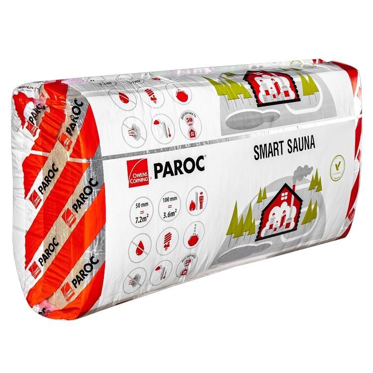 Базальтовая вата Paroc Smart Sauna 1200х600х50 мм 10 плит в упаковке, цена - купить у оптового поставщика