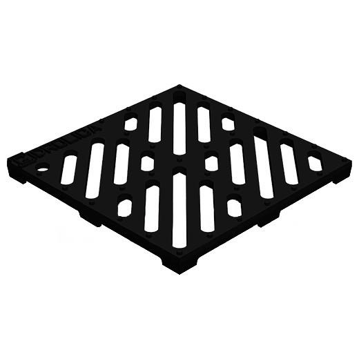 Решетка водоприемная чугунная Gidrolica Point 205 РВ-28,5.28,5
