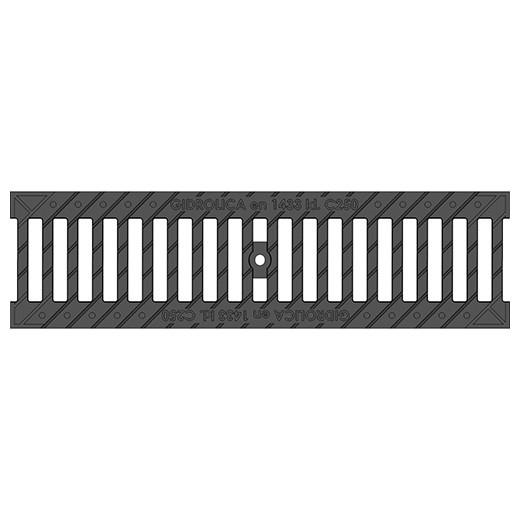 Решетка водоприемная чугунная Gidrolica Standart 506 РВ-10.13,6.50 ВЧ