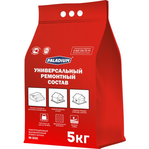Ремонтный состав Paladium универсальный с фиброволокном 5 кг, цена - купить у оптового поставщика