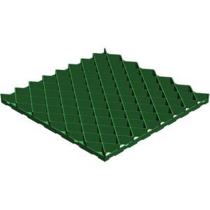 Решетка газонная Gidrolica 605 ромб зеленая