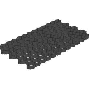 Решетка газонная Gidrolica 608 черная