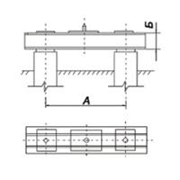 Ростверк Р2-56-30-1 (холодное цинкование)
