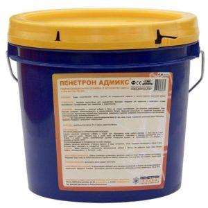 Гидроизоляционная добавка в бетон Пенетрон Адмикс 4 кг, цена - купить у оптового поставщика