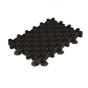 Решетка газонная Standartpark РГ-60.40.5,1 пластиковая черная