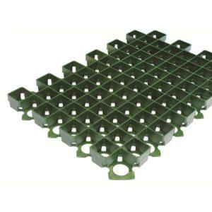 Решетка газонная Standartpark РГ-60.40.3,8 пластиковая зеленая