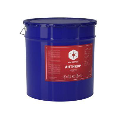 Жидкая теплоизоляция Актерм Антикор белый 10 л металлическое ведро, цена - купить у оптового поставщика