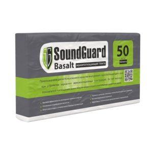 Плита звукопоглощающая Soundguard Basalt 1000х600х50 мм 4 плиты в упаковке, цена - купить у оптового поставщика