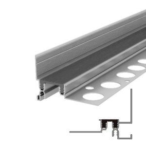 Закладной профиль для деформационного шва без нагрузки Аквастоп тип ДГК-15-УГЛ.Ш/055