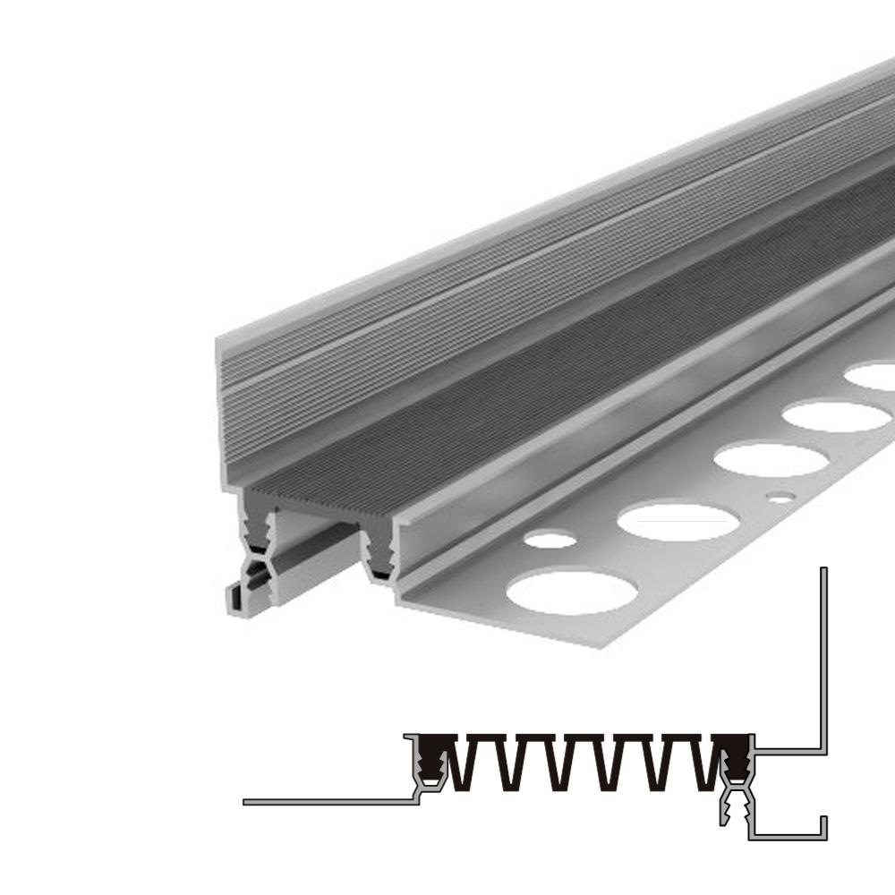 Закладной профиль для деформационного шва без нагрузки Аквастоп тип ДГК-15-УГЛ.Ш/085