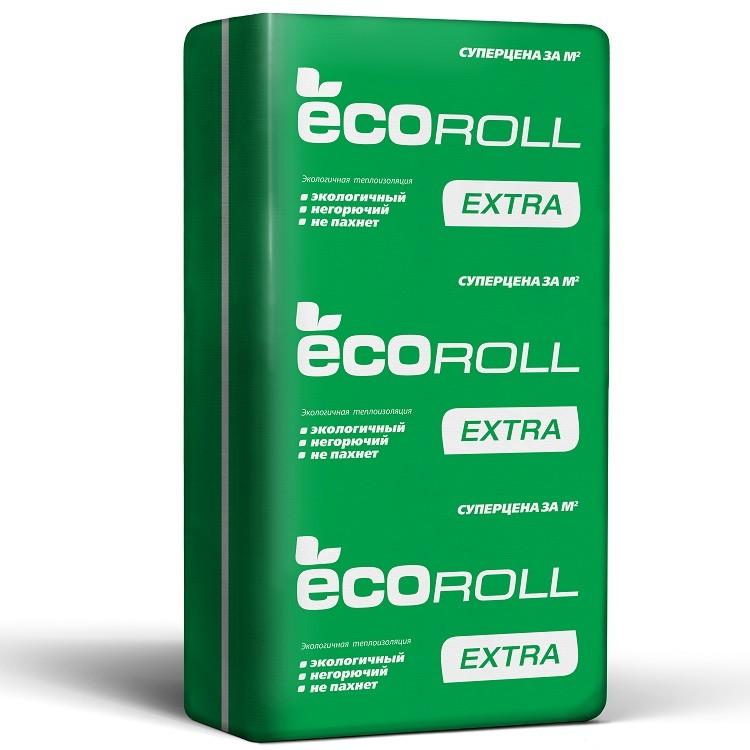 Теплоизоляция EcoRoll Экстра Плита 037 1230х610х50 мм 16 плит в упаковке, цена - купить EcoRoll Экстра Плита 037 1230х610х50 мм 16 плит в упаковке в Москве