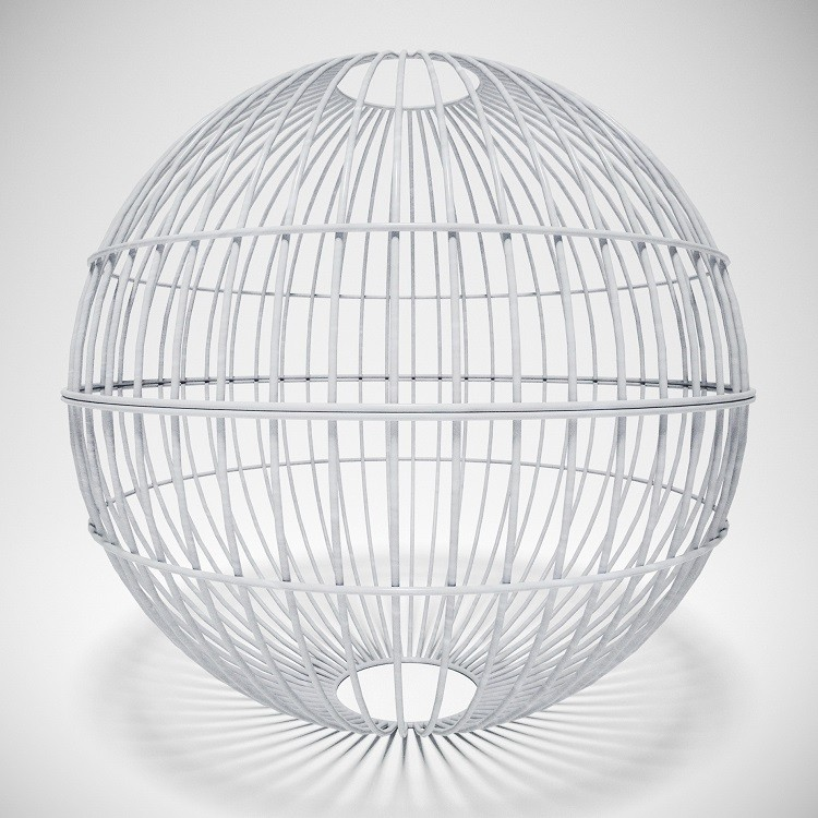 Габион шар 70 см покрытие цинк
