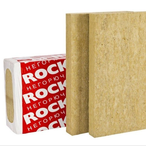 Базальтовая вата Rockwool Венти Баттс 1000х600х100 мм 4 плиты в упаковке, цена - купить у оптового поставщика