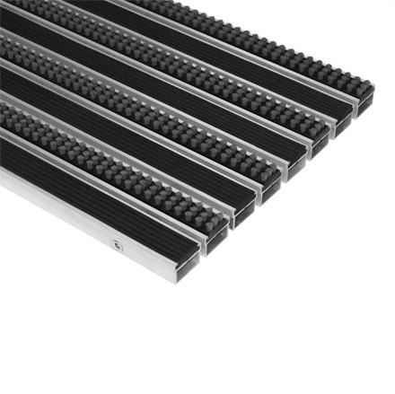 Грязезащитная решетка Император Лайт 22GCB со вставкой резина-кассетная щетка 594х394 мм