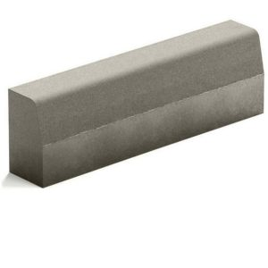 Бордюр магистральный Steingot из серого цемента серый 1000х300х180 мм