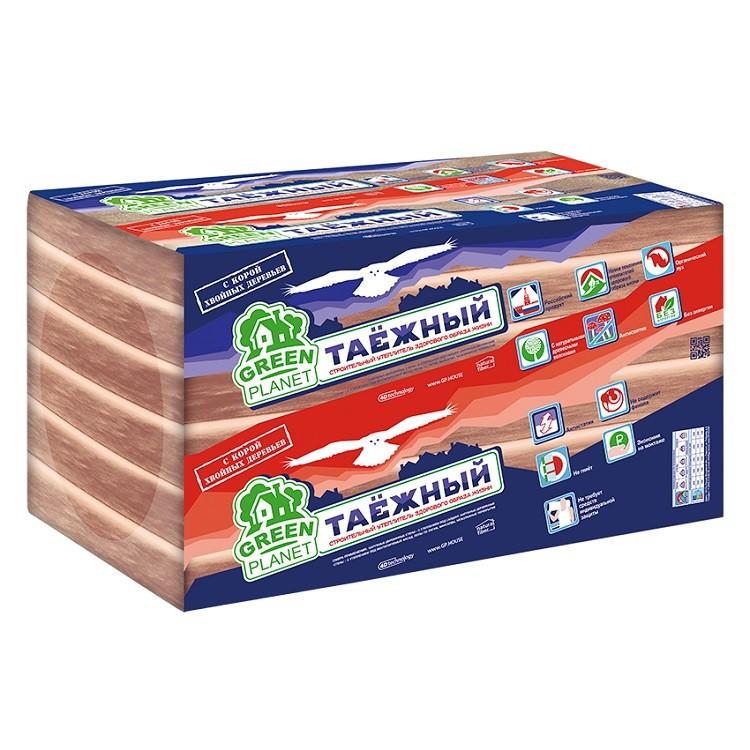 Утеплитель Green Planet Таежный 1000х600х50 мм 12 плит в упаковке, цена - купить у оптового поставщика в Москве