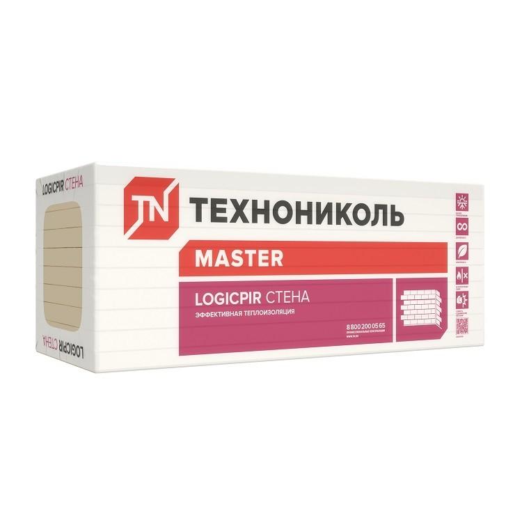Теплоизоляция Технониколь Logicpir L Стена 1185х585х30 мм 8 плит в упаковке, цена - купить у оптового поставщика