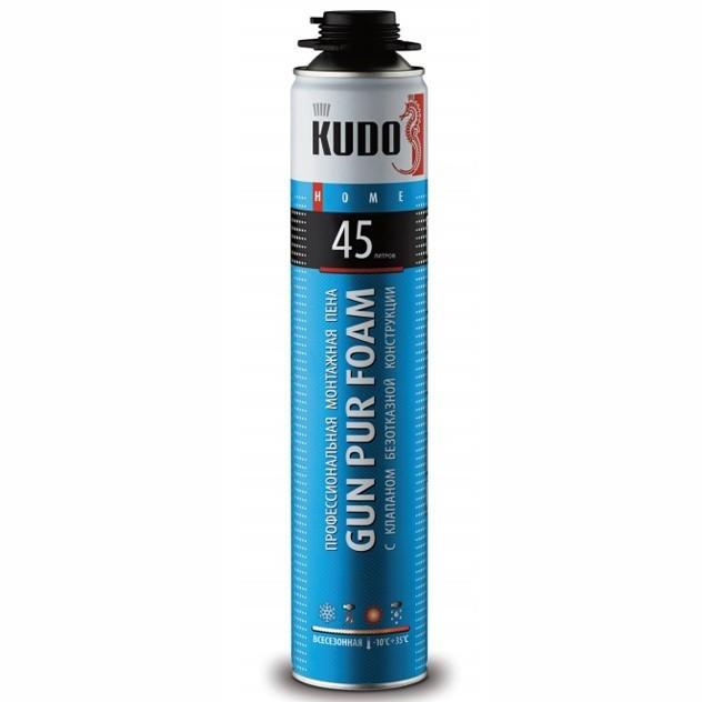 Пена монтажная профессиональная Kudo Home 45 всесезонная , цена - купить у оптового поставщика