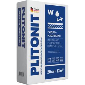 Гидроизоляция жесткая Plitonit Гидрослой 20 кг , цена - купить у оптового поставщика
