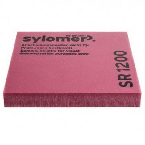 Виброизолирующий эластомер Sylomer SR 1200 фиолетовый 1200х1500х12,5 мм, цена - купить у оптового поставщика
